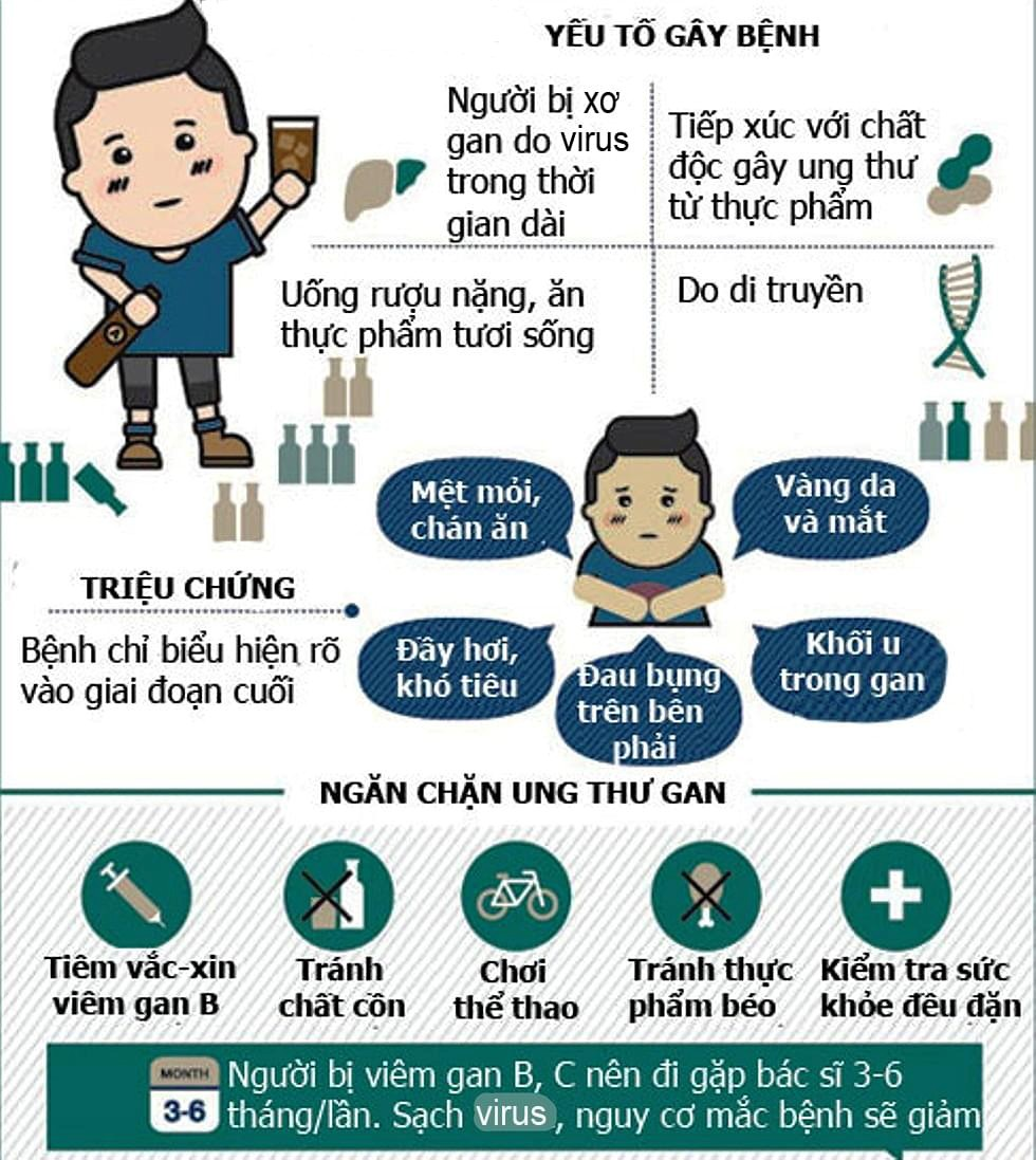 ung thu gan infographic